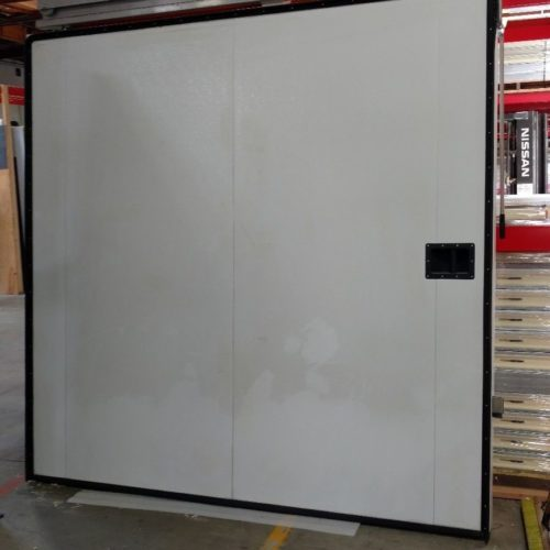 8 ft by 8 ft Left Manual Sliding Door for a Walk-in Box