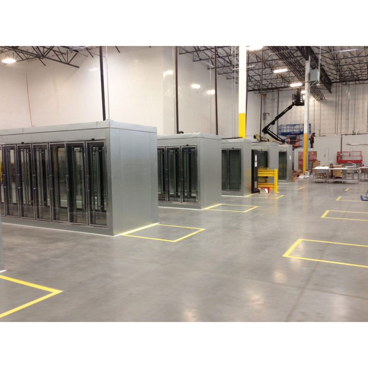 Amazon Fresh Glass Display Doors Commercial Cooling Par Engineering Inc. City of Industry