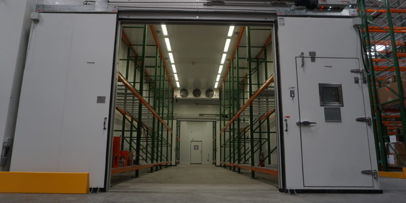 cascade scientific medical walk-in box doors open Commercial Cooling Par Engineering Inc. City of Industry