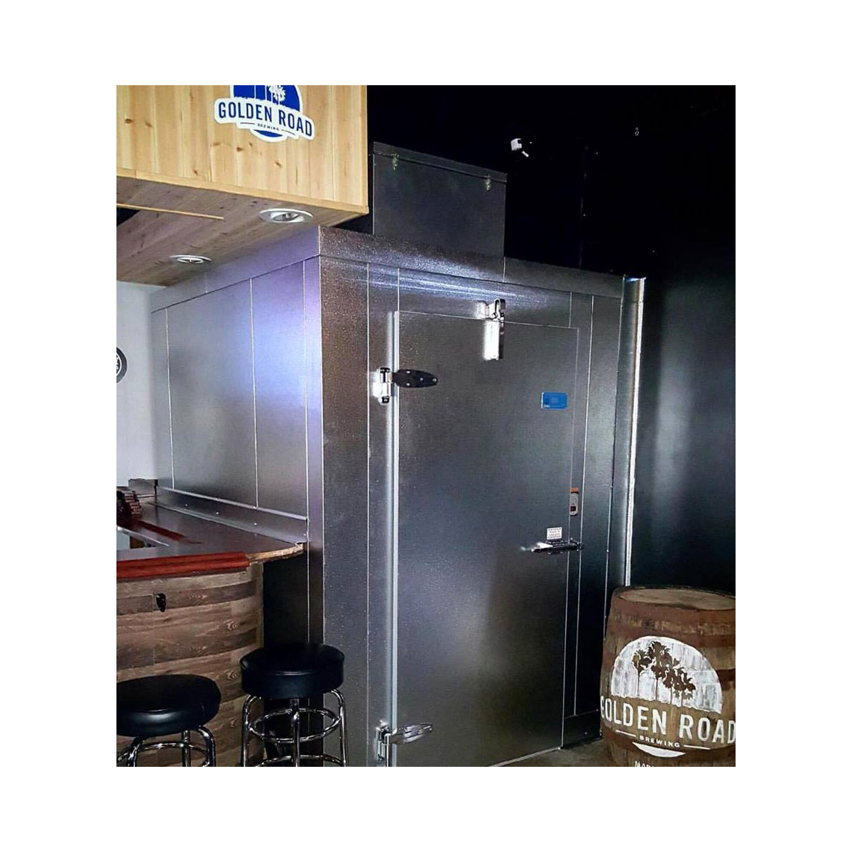 Cask & Hammer Walk-in Box La Habra Commercial Cooling Par Engineering Inc. City of Industry