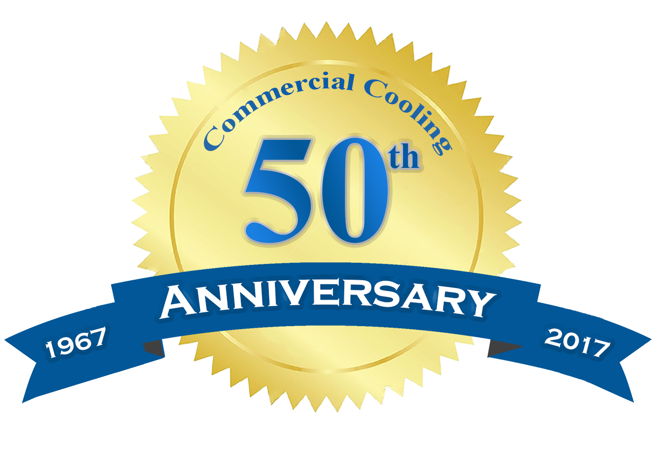 Commercial Cooling Anniversary Seal