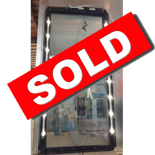 Anthony Door with LED Lighting Sold Commercial Cooling Par Engineering Inc. City of Industry