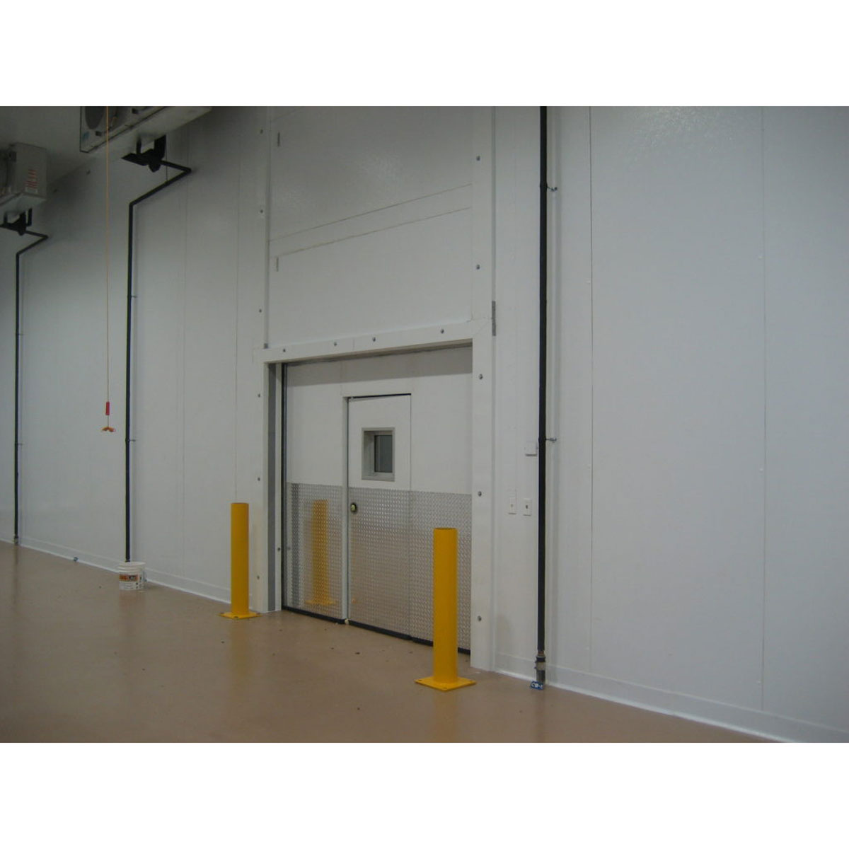 New Orleans Cold Storage Warehouse Door Commercial Cooling Par Engineering Inc. City of Industry