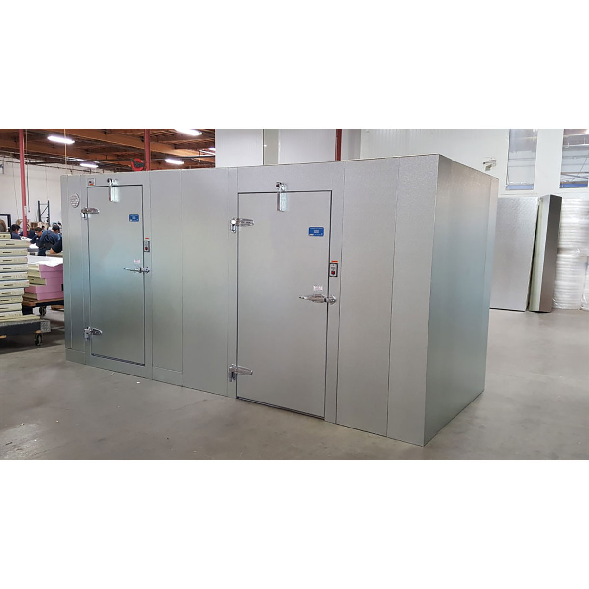 Walk-in Box with Two Doors Commercial Cooling Par Engineering Inc. City of Industry